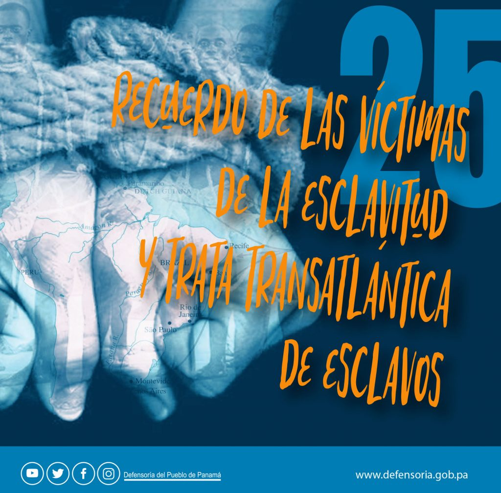 El Día Internacional de Recuerdo de las Víctimas de la Esclavitud y la Trata Trasatlántica de Esclavos
