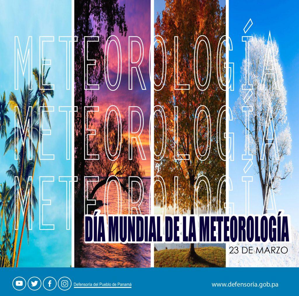 Día mundial de la Meteorología