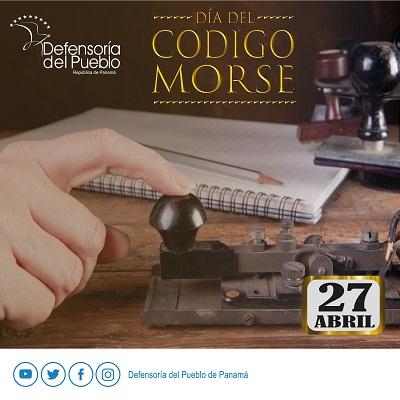 Día Mundial del Código Morse