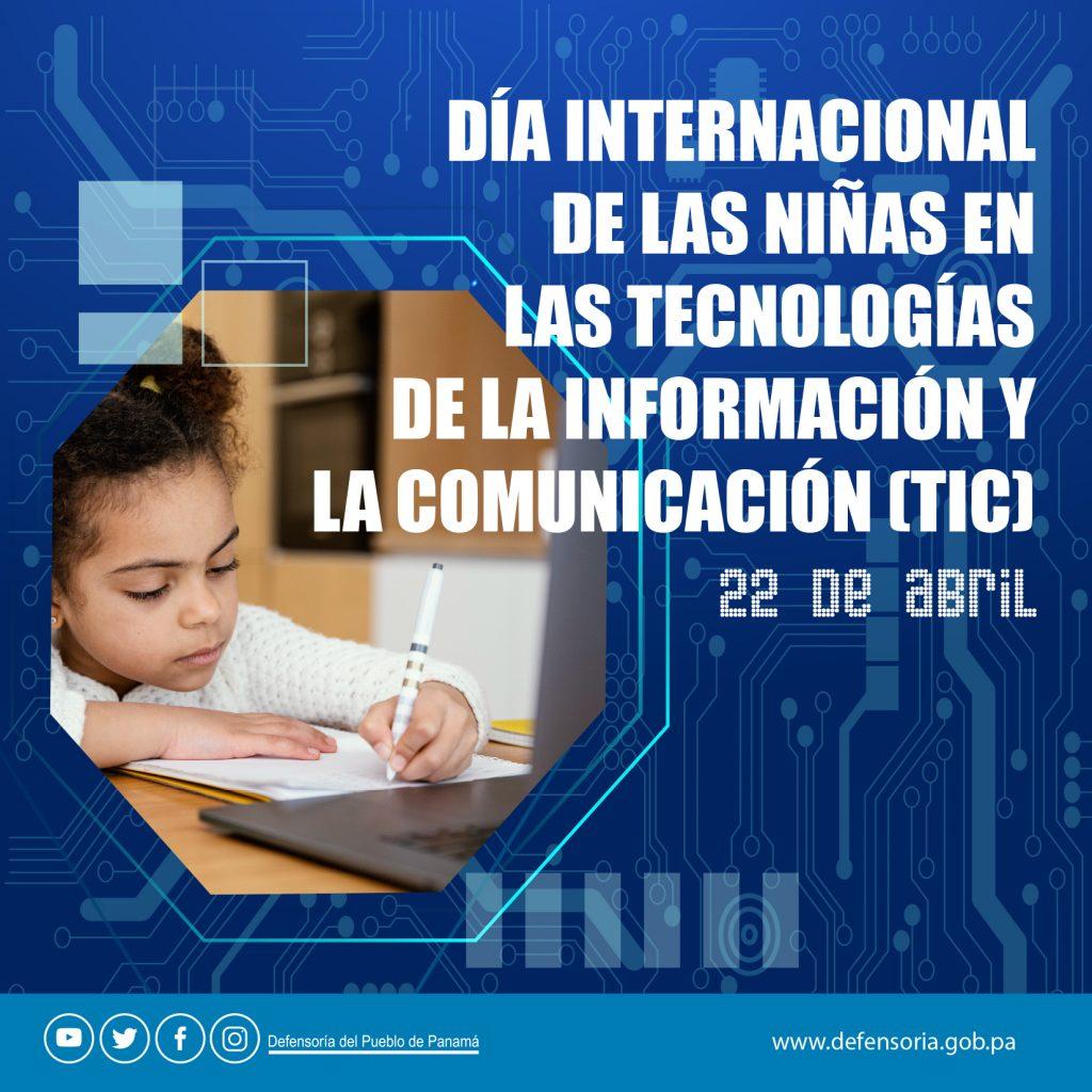 El Día Internacional de las Niñas en las Tecnologías de la Información y Comunicación (TIC)