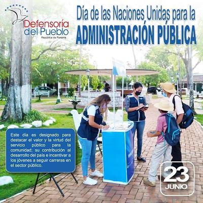 Día de las Naciones Unidas para la Administración Pública