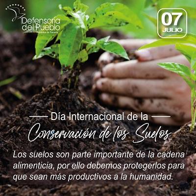 Día Internacional de la Conservación de los Suelos