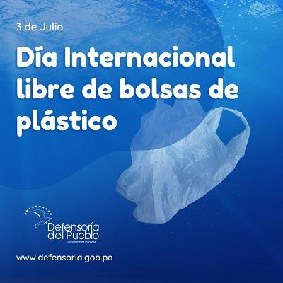 Día Internacional libre de bolsas plásticas